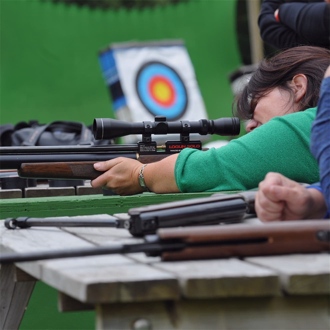 Activities Air Rifle Shooting at Bovey Castle 01