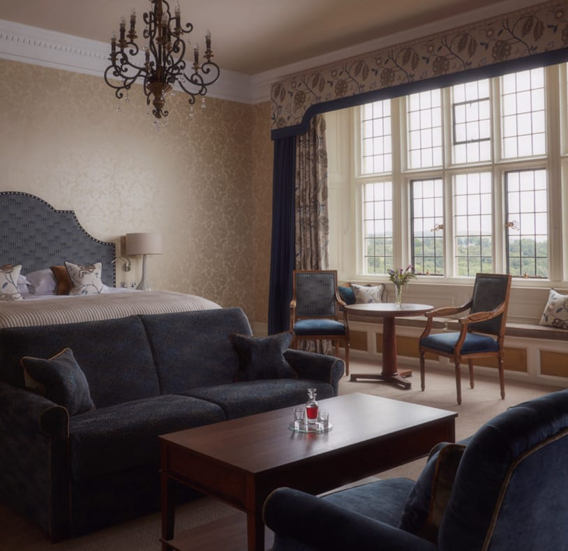 Stay at our luxury Dartmoor hotel, Bovey Castle.