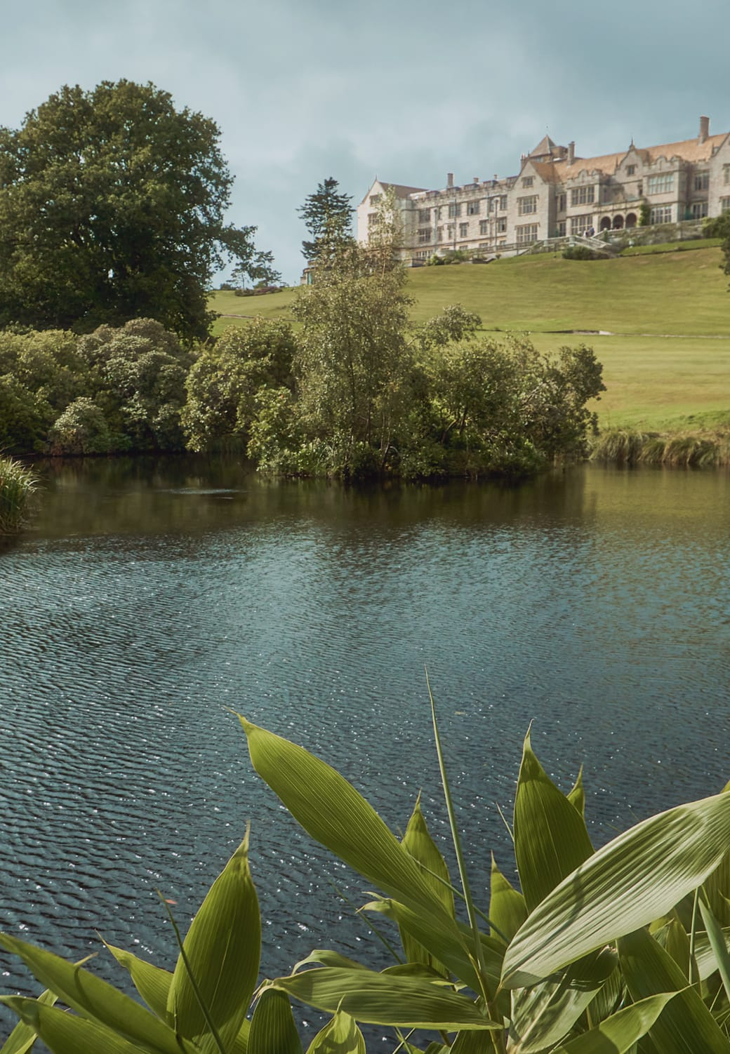 Stay in one of our Bovey Castle lodges.