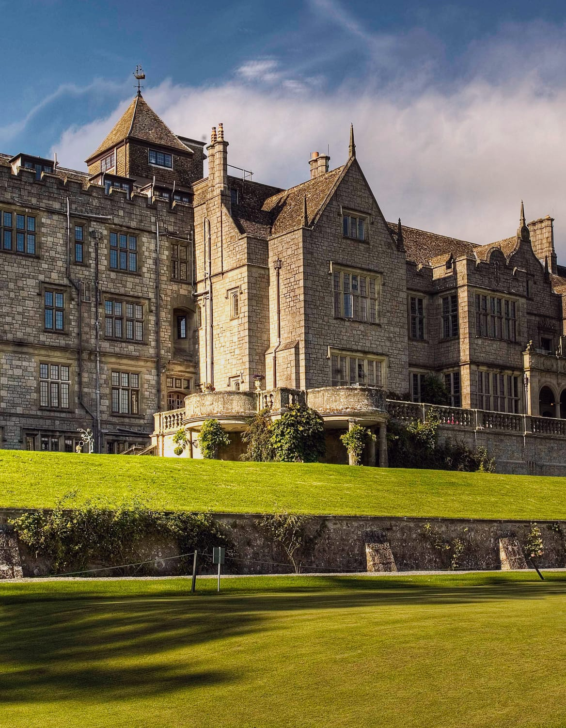 Looking for a suitable conference venue? Try Bovey Castle, Devon.