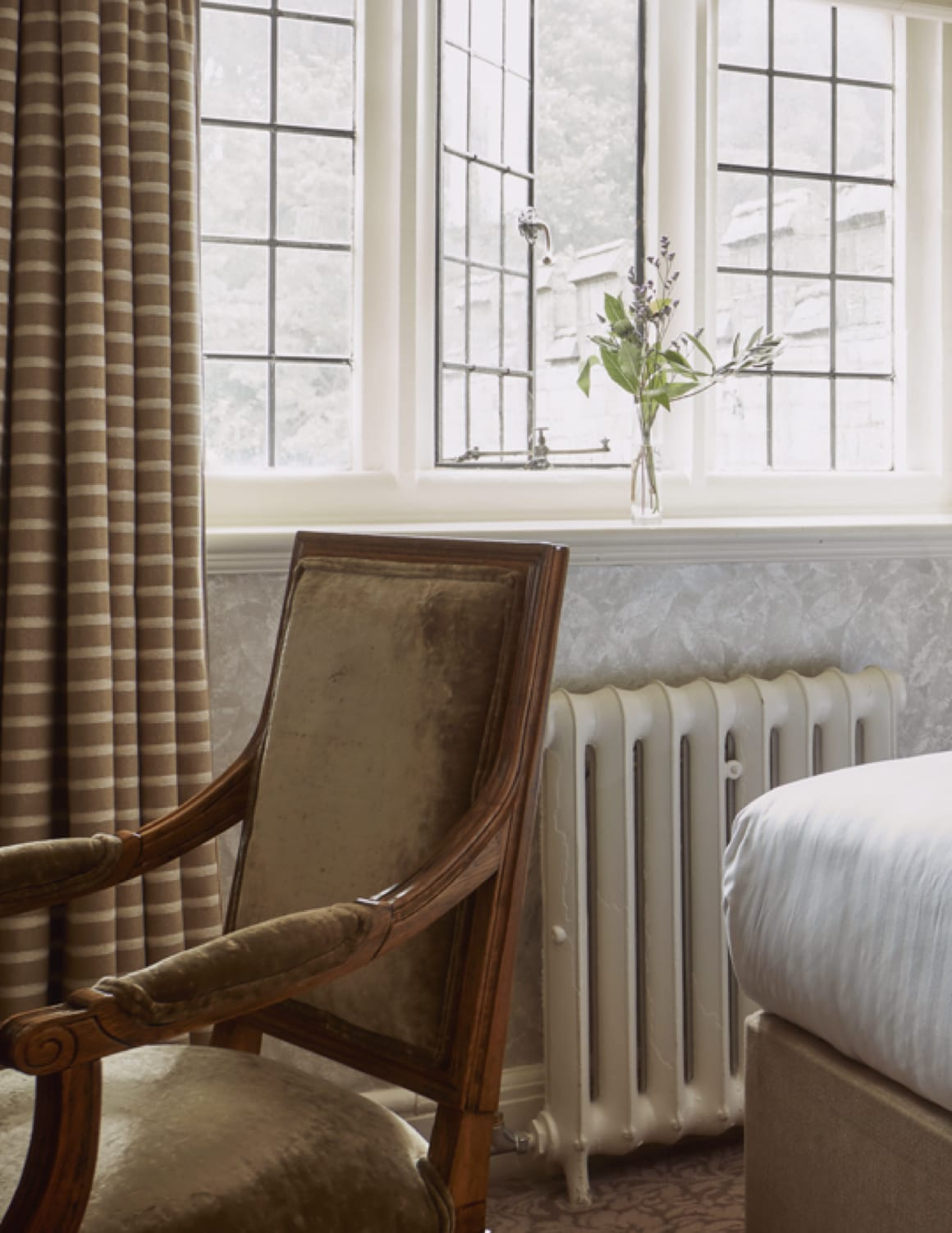 Stay in one of our single rooms at Bovey Castle.