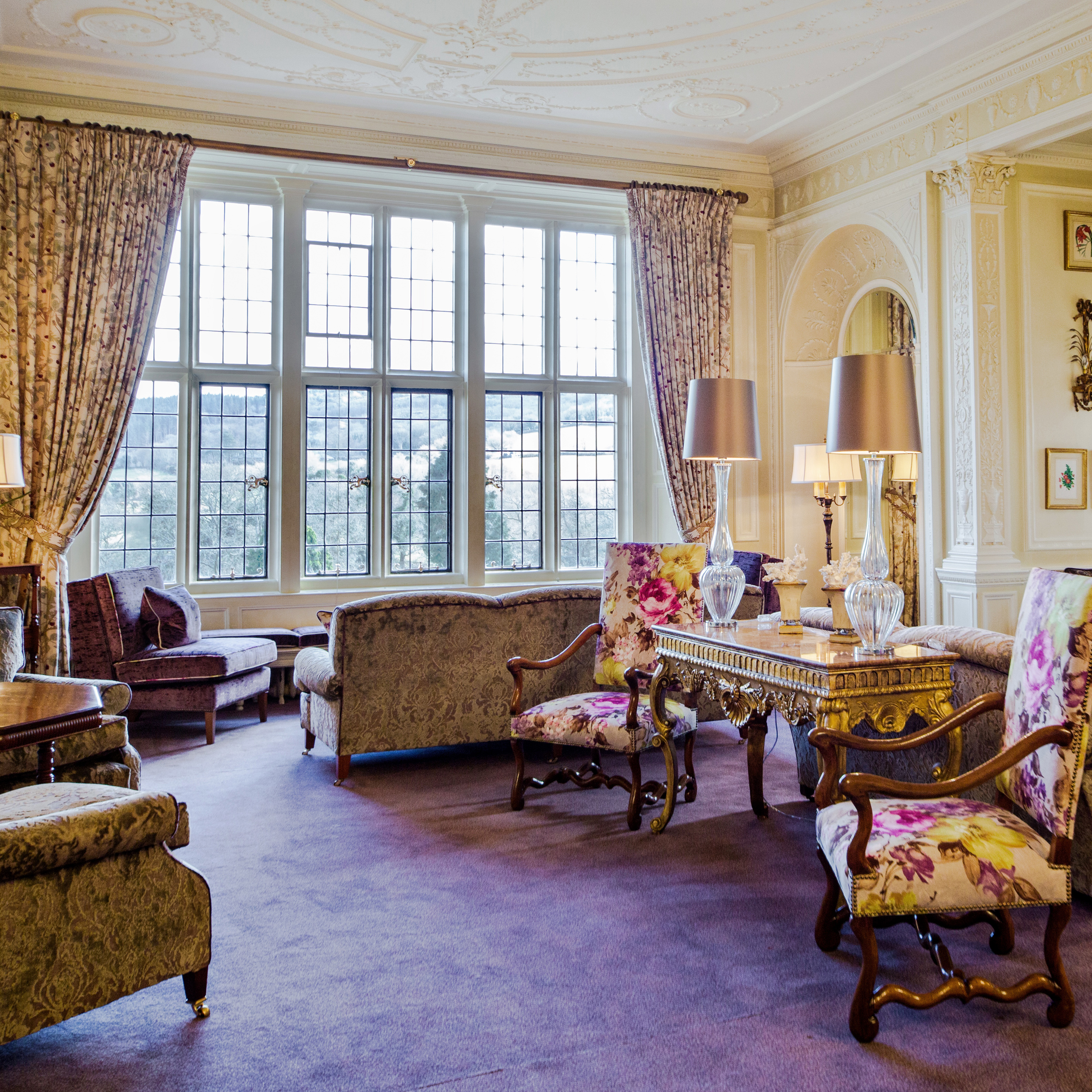 The Adam Room at Bovey Castle