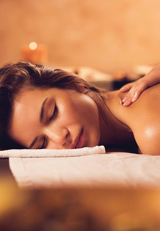 ESPA festive treatment massage